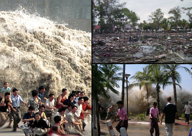 Running-From-The-Tsunami-2004-Indonesia