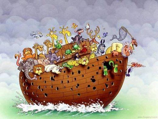 noah's-ark-wood-pecker