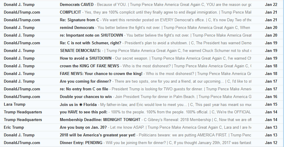 Trump-Spam-Emails