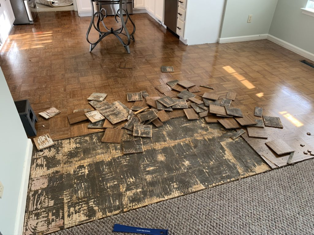 Removing Parquet Flooring Floor Adhesive Lessons Learned
