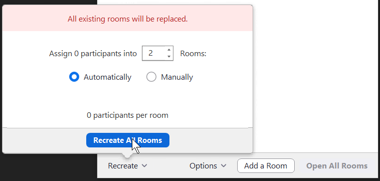 Zoom Breakout Rooms Lessons Learned Sais